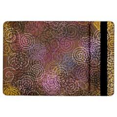 2000 Spirals Many Colorful Spirals Ipad Air 2 Flip by Nexatart
