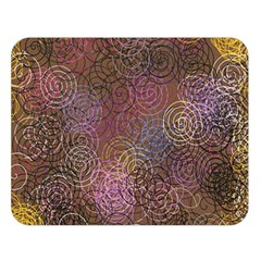 2000 Spirals Many Colorful Spirals Double Sided Flano Blanket (large)