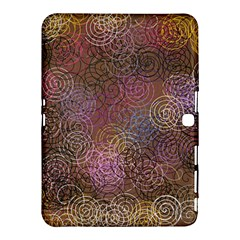 2000 Spirals Many Colorful Spirals Samsung Galaxy Tab 4 (10 1 ) Hardshell Case