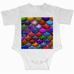 Fun Balls Pattern Colorful And Ornamental Balls Pattern Background Infant Creepers