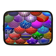 Fun Balls Pattern Colorful And Ornamental Balls Pattern Background Netbook Case (medium)