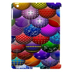 Fun Balls Pattern Colorful And Ornamental Balls Pattern Background Apple Ipad 3/4 Hardshell Case (compatible With Smart Cover) by Nexatart
