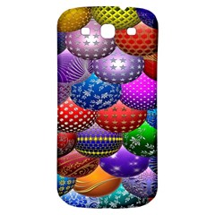 Fun Balls Pattern Colorful And Ornamental Balls Pattern Background Samsung Galaxy S3 S Iii Classic Hardshell Back Case by Nexatart