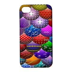 Fun Balls Pattern Colorful And Ornamental Balls Pattern Background Apple Iphone 4/4s Hardshell Case With Stand by Nexatart