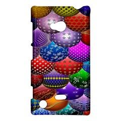 Fun Balls Pattern Colorful And Ornamental Balls Pattern Background Nokia Lumia 720 by Nexatart