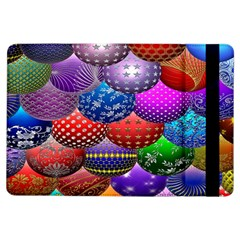 Fun Balls Pattern Colorful And Ornamental Balls Pattern Background Ipad Air Flip by Nexatart