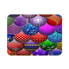 Fun Balls Pattern Colorful And Ornamental Balls Pattern Background Double Sided Flano Blanket (mini)
