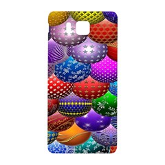 Fun Balls Pattern Colorful And Ornamental Balls Pattern Background Samsung Galaxy Alpha Hardshell Back Case