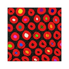 Polka Dot Texture Digitally Created Abstract Polka Dot Design Acrylic Tangram Puzzle (6  X 6 )