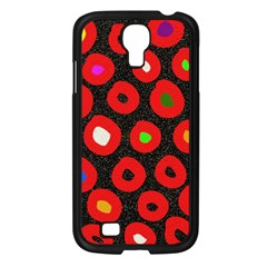 Polka Dot Texture Digitally Created Abstract Polka Dot Design Samsung Galaxy S4 I9500/ I9505 Case (black) by Nexatart