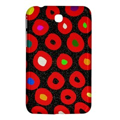 Polka Dot Texture Digitally Created Abstract Polka Dot Design Samsung Galaxy Tab 3 (7 ) P3200 Hardshell Case  by Nexatart