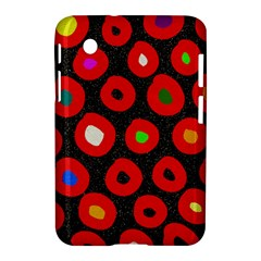 Polka Dot Texture Digitally Created Abstract Polka Dot Design Samsung Galaxy Tab 2 (7 ) P3100 Hardshell Case  by Nexatart