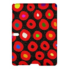 Polka Dot Texture Digitally Created Abstract Polka Dot Design Samsung Galaxy Tab S (10 5 ) Hardshell Case  by Nexatart