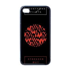 Albums By Twenty One Pilots Stressed Out Apple Iphone 4 Case (black) by Onesevenart