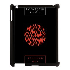 Albums By Twenty One Pilots Stressed Out Apple Ipad 3/4 Case (black) by Onesevenart