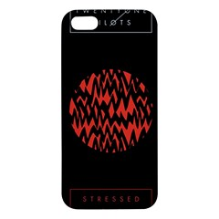 Albums By Twenty One Pilots Stressed Out Iphone 5s/ Se Premium Hardshell Case by Onesevenart