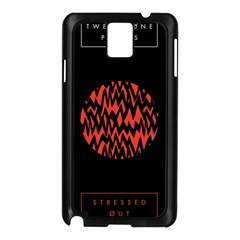 Albums By Twenty One Pilots Stressed Out Samsung Galaxy Note 3 N9005 Case (black) by Onesevenart