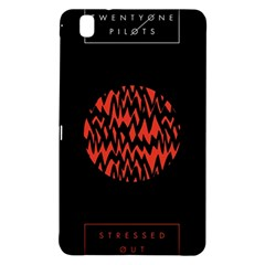 Albums By Twenty One Pilots Stressed Out Samsung Galaxy Tab Pro 8 4 Hardshell Case by Onesevenart