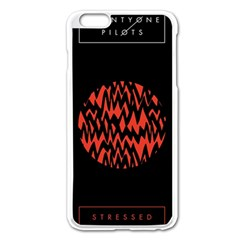 Albums By Twenty One Pilots Stressed Out Apple Iphone 6 Plus/6s Plus Enamel White Case by Onesevenart