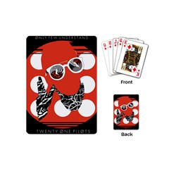 Twenty One Pilots Poster Contest Entry Playing Cards (Mini)  by Onesevenart
