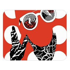 Twenty One Pilots Poster Contest Entry Double Sided Flano Blanket (Large)  by Onesevenart