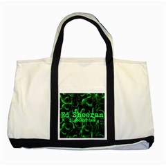 Bloodstream Single Ed Sheeran Two Tone Tote Bag by Onesevenart