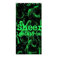 Bloodstream Single Ed Sheeran Shower Curtain 36  X 72  (stall)  by Onesevenart