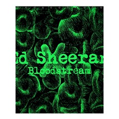Bloodstream Single Ed Sheeran Shower Curtain 60  X 72  (medium)  by Onesevenart