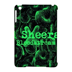 Bloodstream Single ED Sheeran Apple iPad Mini Hardshell Case (Compatible with Smart Cover) by Onesevenart