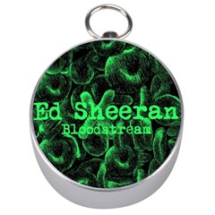 Bloodstream Single Ed Sheeran Silver Compasses by Onesevenart