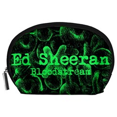 Bloodstream Single Ed Sheeran Accessory Pouches (large)  by Onesevenart