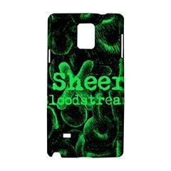 Bloodstream Single Ed Sheeran Samsung Galaxy Note 4 Hardshell Case by Onesevenart
