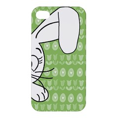 Easter Bunny  Apple Iphone 4/4s Hardshell Case by Valentinaart