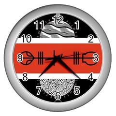 Poster Twenty One Pilots Wall Clocks (silver)  by Onesevenart