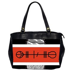 Poster Twenty One Pilots Office Handbags (2 Sides)  by Onesevenart