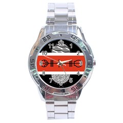 Poster Twenty One Pilots Stainless Steel Analogue Watch by Onesevenart