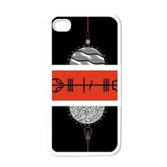 Poster Twenty One Pilots Apple iPhone 4 Case (White) by Onesevenart
