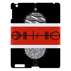 Poster Twenty One Pilots Apple Ipad 3/4 Hardshell Case by Onesevenart