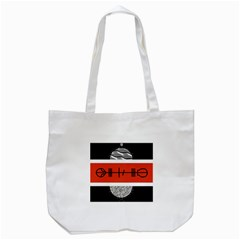 Poster Twenty One Pilots Tote Bag (white) by Onesevenart