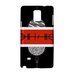 Poster Twenty One Pilots Samsung Galaxy Note 4 Hardshell Case by Onesevenart