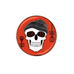Poster Twenty One Pilots Skull Hat Clip Ball Marker (10 pack) by Onesevenart