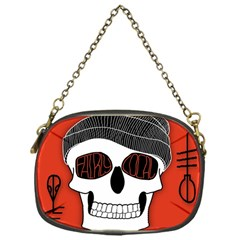 Poster Twenty One Pilots Skull Chain Purses (one Side)  by Onesevenart
