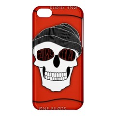 Poster Twenty One Pilots Skull Apple Iphone 5c Hardshell Case by Onesevenart