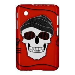 Poster Twenty One Pilots Skull Samsung Galaxy Tab 2 (7 ) P3100 Hardshell Case  by Onesevenart