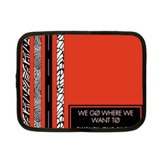 Poster Twenty One Pilots We Go Where We Want To Netbook Case (small)  by Onesevenart