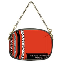 Poster Twenty One Pilots We Go Where We Want To Chain Purses (one Side)  by Onesevenart