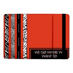 Poster Twenty One Pilots We Go Where We Want To Samsung Galaxy Tab Pro 10 1  Flip Case by Onesevenart