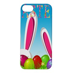 Easter Bunny  Apple Iphone 5s/ Se Hardshell Case by Valentinaart
