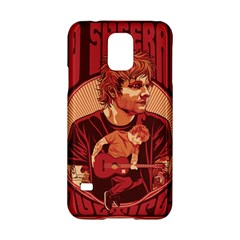Ed Sheeran Illustrated Tour Poster Samsung Galaxy S5 Hardshell Case  by Onesevenart