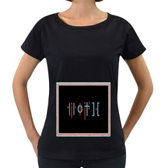 Twenty One Pilots Event Poster Women s Loose-Fit T-Shirt (Black) by Onesevenart